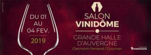 VINIDOME Clermont-Ferrand - Stand B17 @ Grande Halle d'Auvergne | Cournon-d'Auvergne | Auvergne-Rhône-Alpes | France