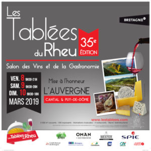 LES TABLEES DU RHEU - 8-9-10 mars 2019 @ Le Rheu